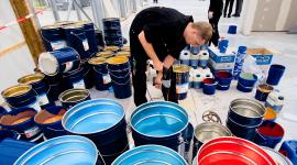 Для организации производства лакокрасочных материалов...  Готовую продукцию можно распространять по магазинам и...